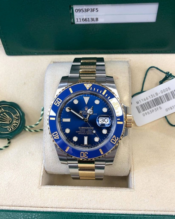 2018 Rolex Submariner BI metal