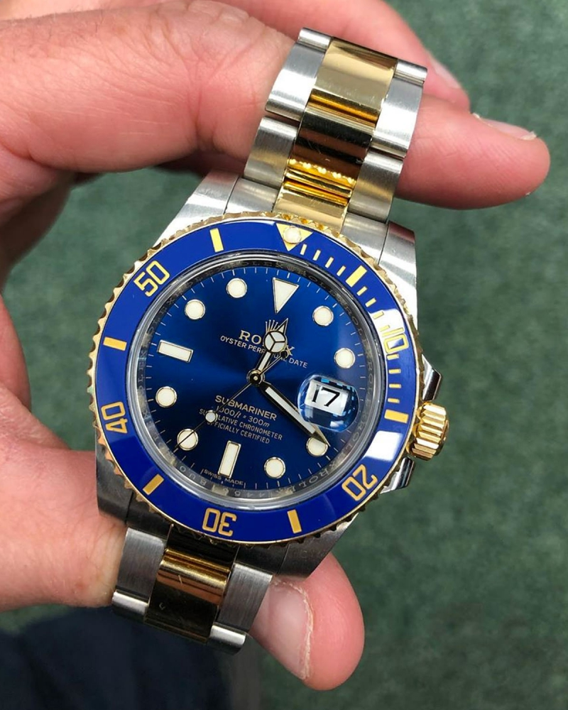 2018 Rolex Submariner BI metal Lifestyle