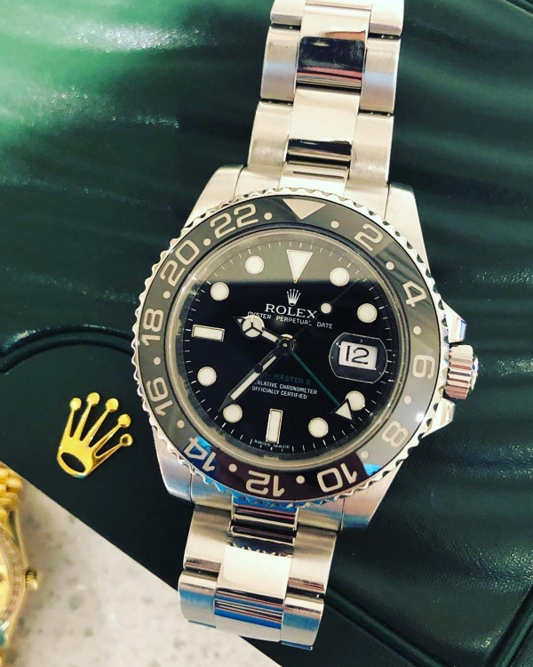 Rolex Ceramic GMT Stainless Steel