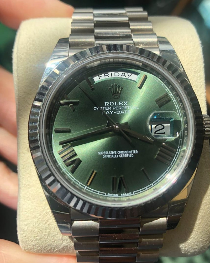 Rolex Day Date 40mm 18CT White Gold