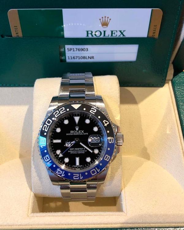 Rolex GMT Batman